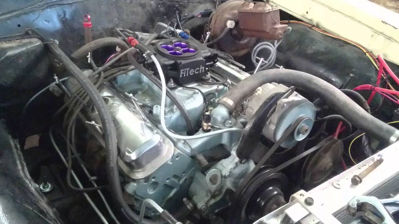 Fitech Efi Running On 65 Gto