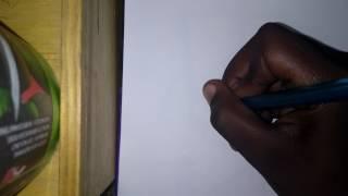 How to draw a batarang/bat symbol