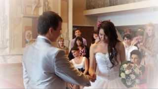 Фиолетовая свадьба в сентябре. Магнитогорск 2013