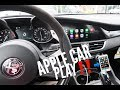 Apple Car Play Demo 2018 Alfa Romeo Giulia Quadrifoglio