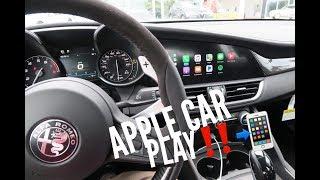 Apple Car Play Demo 2018 Alfa Romeo Giulia Quadrifoglio