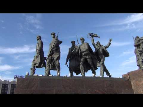 Площадь Победы в Минске, Беларусь Belarusby