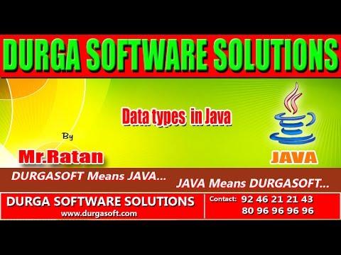 Corejava - Basics- Data types in Java
