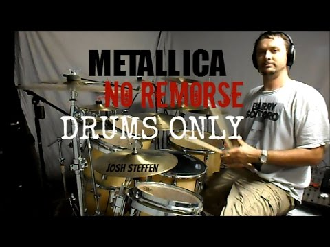 METALLICA - No Remorse - Drums Only