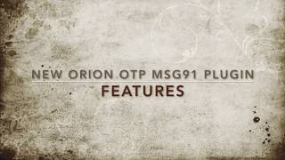 Whats new in the Orion OTP MSG91 WordPress Plugin