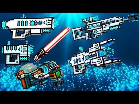 Emerald Phaser Gun Texture For Zawie Roblox The Best Super Z Chest Opening Pixel Gun 3d Youtube