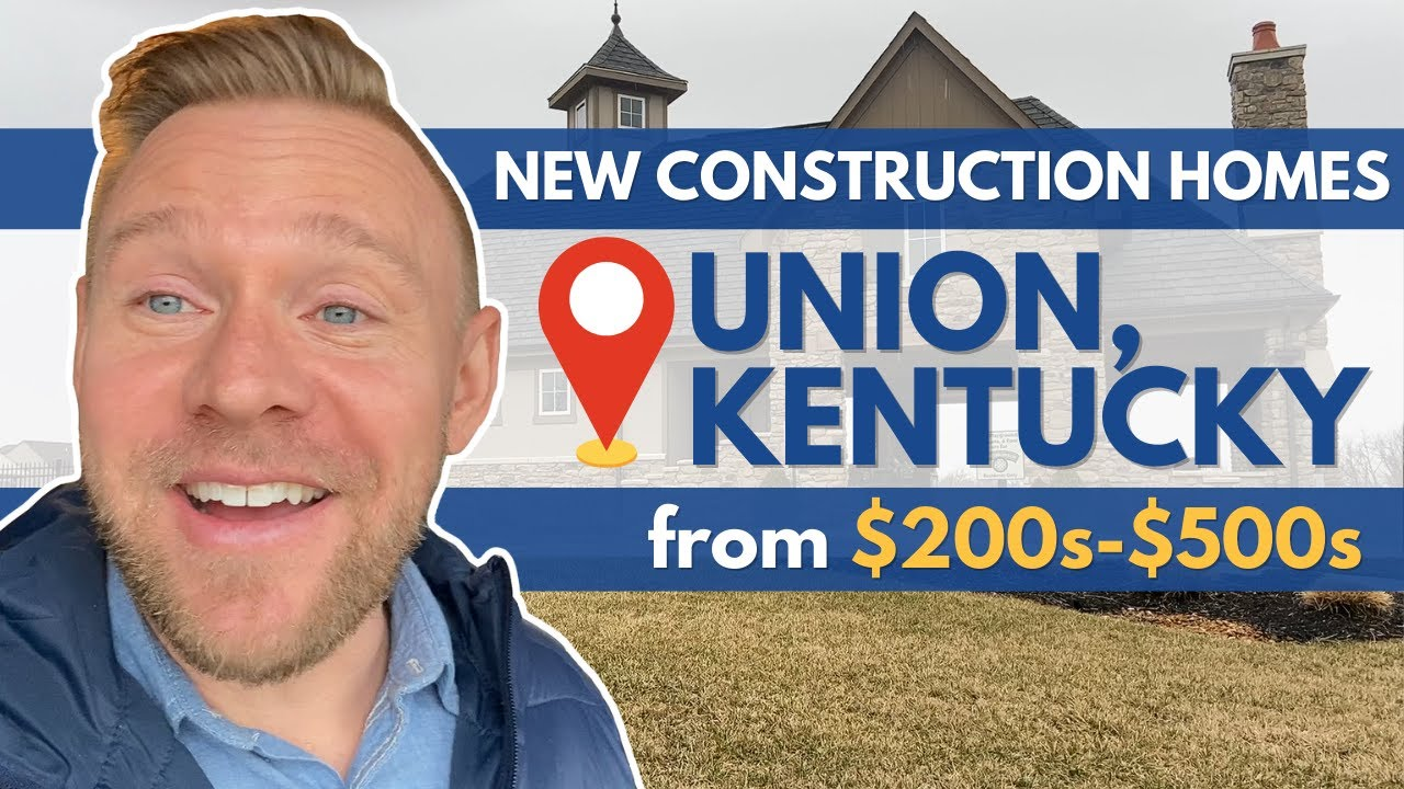 New Construction Homes in Union, KY - Ballyshannon Neighborhood | $200s - $500s