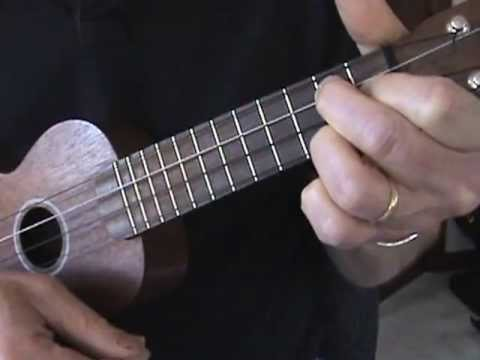simple ukulele blues