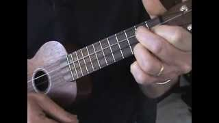 simple ukulele blues