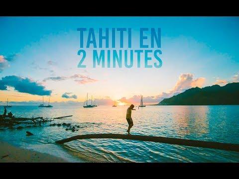 VISITER TAHITI EN DEUX MINUTES