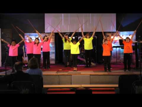 Kids Alive Easter Stick Ministry 2016