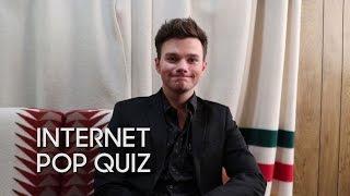 Internet Pop Quiz: Chris Colfer
