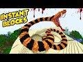 NATYCHMIASTOWE STUKTURY W MINECRAFT! | INSTANT BLOCKS MOD!