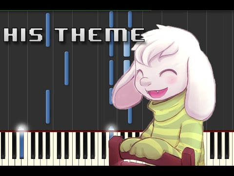 His Theme Piano Letter Notes