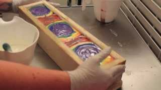 Making Rainbow Soap