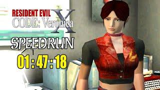 RESIDENT EVIL CODE : Veronica em 01:47:18 | Record Sul-Americano | Speedrun