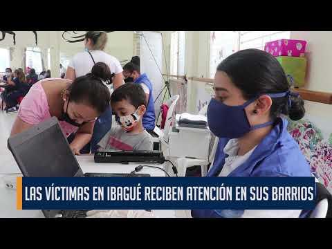 Personas afectadas por el conflicto armado de la comuna 7 de Ibagué se beneficiaron