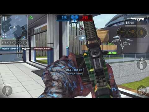 "Modern Combat 5 Squad Battle - Phantoms VS Mortars - ""Lagging Squad"""
