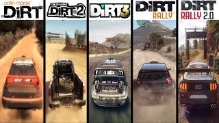 DiRT vs DiRT 2 vs DiRT 3 vs DiRT Rally vs DiRT 4 vs DiRT Rally 2.0 - Gameplay Comparison HD