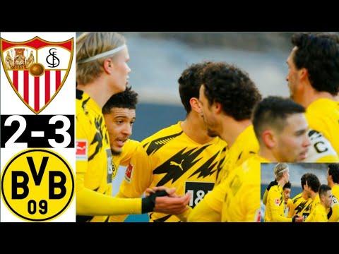 Sevilla Vs Dortmund 2-3 | High Light  \u0026\u0026 All Gooooooal 2021