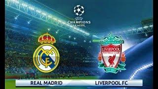 Real Madrid vs Liverpool | UEFA Champions League 2018 | PES 2018 Gameplay HD