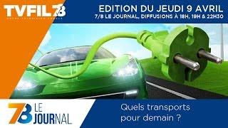 7/8 Le Journal – Edition du jeudi 9 avril 2015