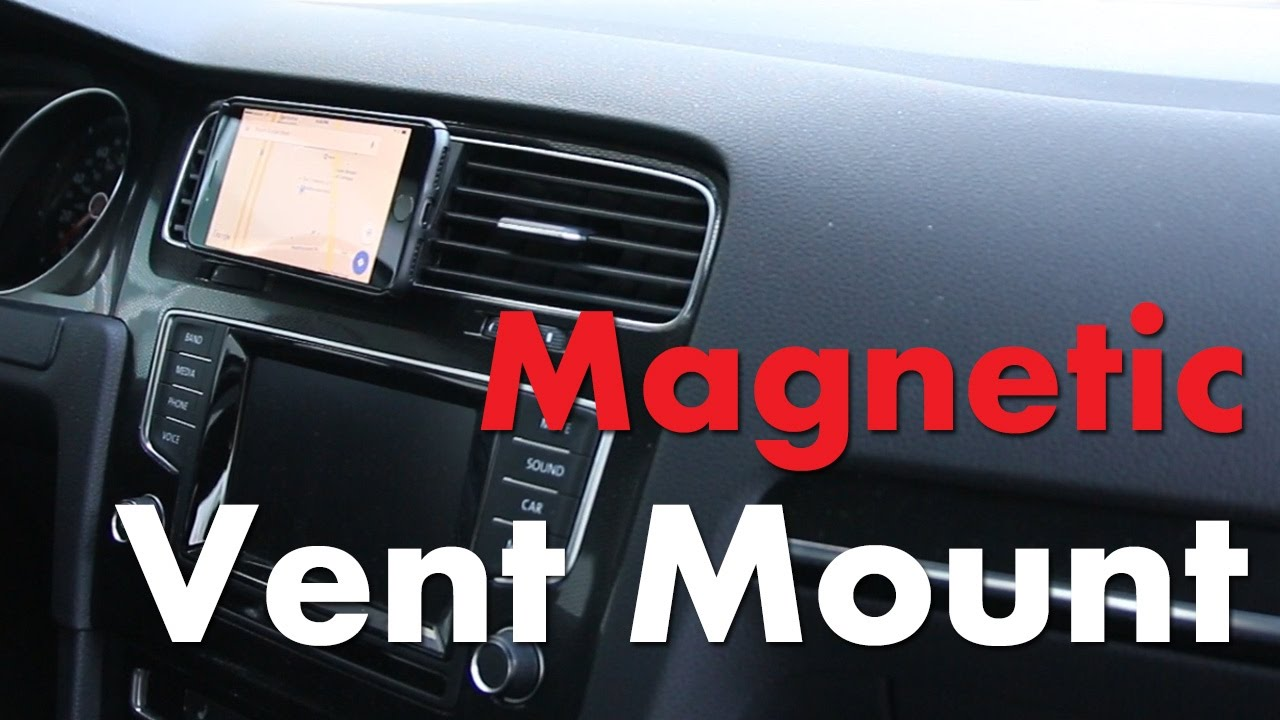 Vw Magnetic Vent Mount For Your Phone Youtube Car Holder Magnet Ac