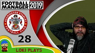 Football Manager 2019 - Episode 28 - Oh Dear - The Stanley Parable - FM19