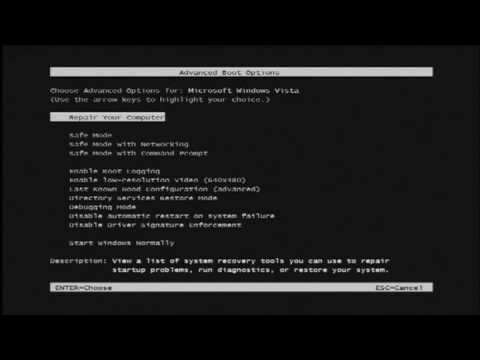 Computer Technology How To Start Your Windows Computer In Dos