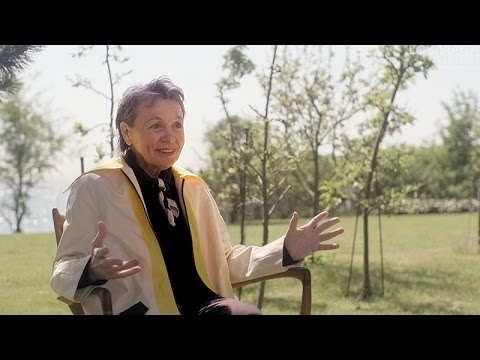 Laurie Anderson Interview: Advice to the Young
