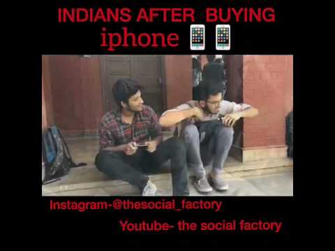 indian after buying iphone