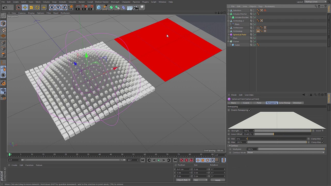 Cinema 4D R20 Tutorial - What are Fields