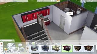the sims 4// house build// loft (1bdr+1 bth)