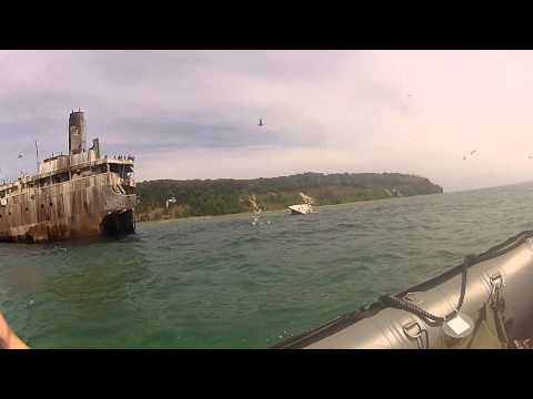 South Manitou island Shipwreck - Francisco Morazan