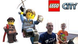 ПОЛИЦИЯ ЛЕГО СИТИ - Ловим с Даником бандитов на море и в городе Lego City GAME