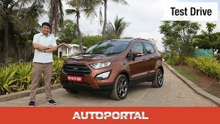 Ford Ecosport S Ecoboost - Test Drive Review - Autoportal