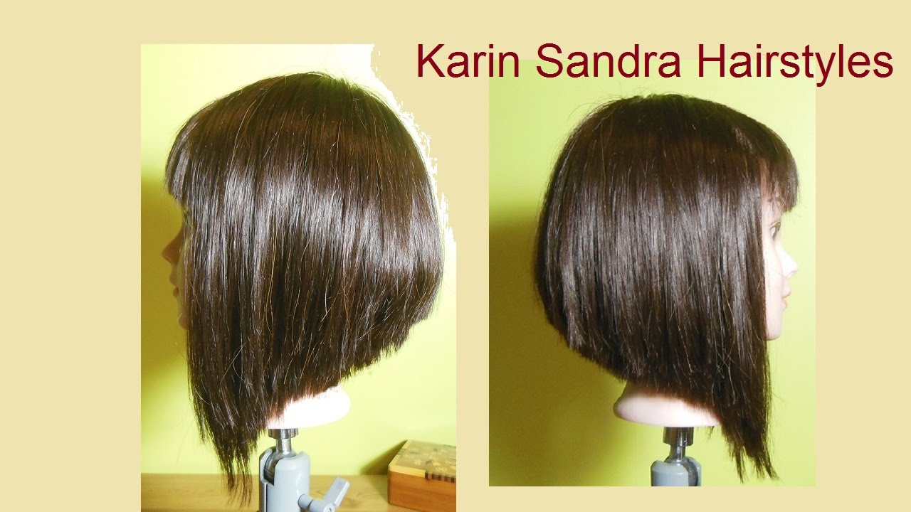Bob Haircut With Graduation Layered Bob Haircut A Line Bob
