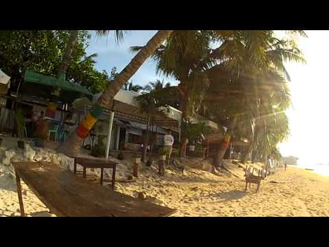 Borcay's Little Brother is ALONA BEACH Shoreline & Stores in BOHOL Philippines with RABBI JEW BARKER