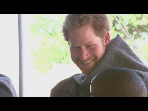 Prince Harry reunites with the little boy who changed his life in Lesotho