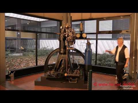 Самый старый дизельный двигатель MAN в мире, 1903 год (самый старый дизельный двигатель)
