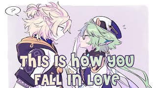 Nightcore - This Is How You Fall In Love (Lyrics/SV/Valentine Special)