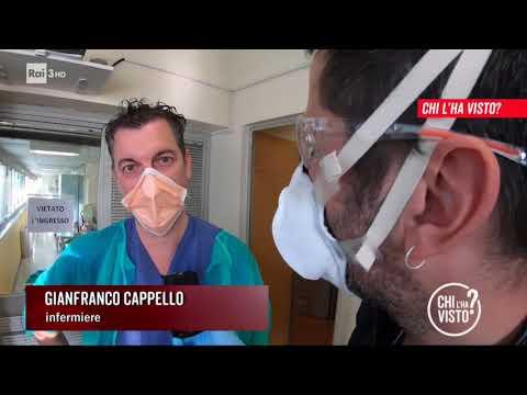 Operatori sanitari nella trincea del coronavirus - Chi l'ha visto 26/03/2020