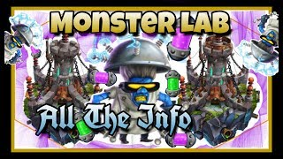 Monster Legends - Monster Lab and Cells - All the Info