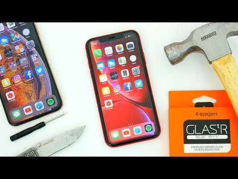 Easiest Way To Install A Glass Screen Protector! Spigen Glas.tR EZ Fit