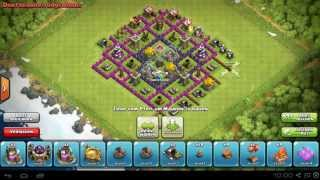 Clash of Clans Town Hall Lvl 8 Speed Build / Let's Play Clash of Clans / Android_iOS