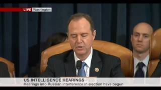 House Intelligence Committee investigation into Donald Trump and Russia