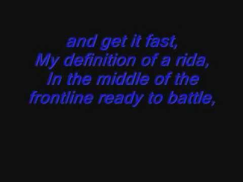 my definition of a rider Mr. Criminal Ft Lil Cuete Lyrics
