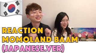Korean Reaction Momoland BAAM Japanese ver.mp3