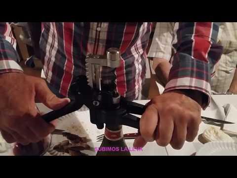 Abridor de botella profesional | SCREWPULL Lever Model - Modèle Professionnel