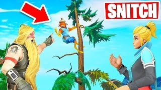 SNITCH to WIN! *NEW* Hide & Seek Gamemode in Fortnite Creative